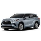Автомобильные коврики в салон для Toyota Highlander 4 2020- | Тойота Хайлендер 4