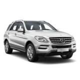 Автомобильные коврики в салон для Mercedes-Benz ML-Class (W166) 11-/GLE 14- | Мерседес МЛ-Класс