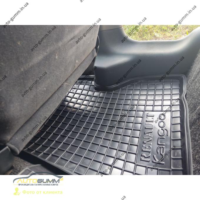 Автомобильные коврики в салон Renault Kangoo 1998- (4 двери) (Avto-Gumm)