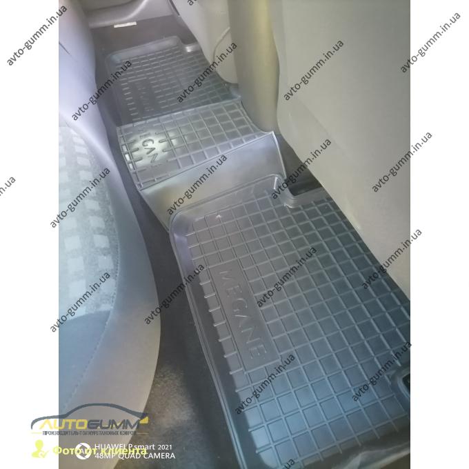 Автомобильные коврики в салон Renault Megane 2 2003-2009 (Avto-Gumm)