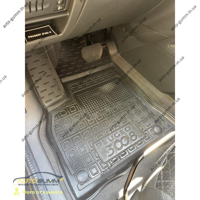Передние коврики в автомобиль Peugeot 3008 2010-2016 (AVTO-Gumm)
