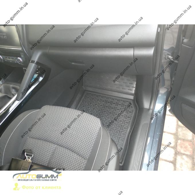 Автомобильные коврики в салон Renault Kadjar 2016- (Avto-Gumm)