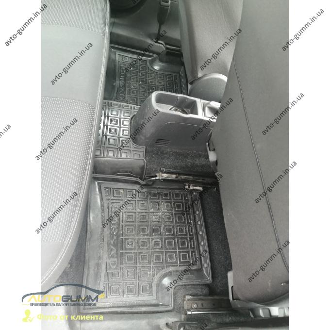 Автомобильные коврики в салон Opel Corsa D 2006- 5 дверей (Avto-Gumm)