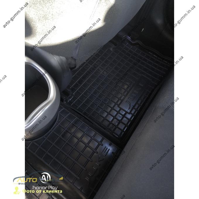 Автомобильные коврики в салон Nissan Juke 2010- (Avto-Gumm)