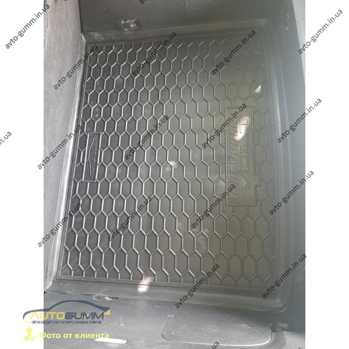 Автомобильный коврик в багажник Chevrolet Volt 2010- (Avto-Gumm)