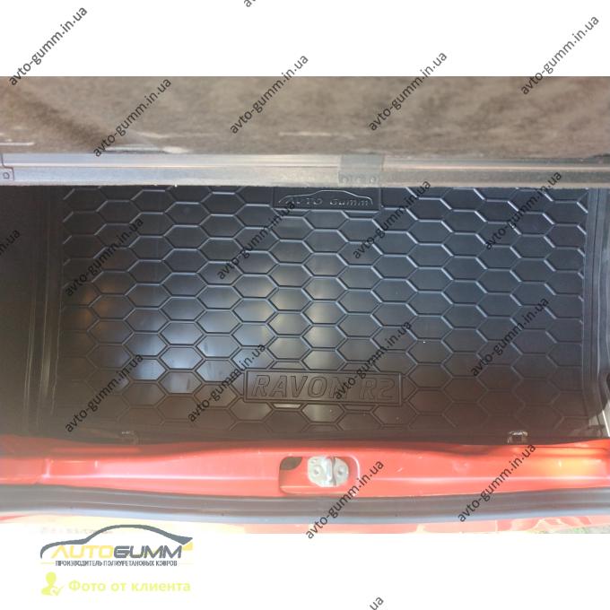 Автомобильный коврик в багажник Ravon R2 2015- (Avto-Gumm)