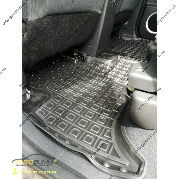 Автомобильные коврики в салон Renault Scenic 3 2009- (Avto-Gumm)