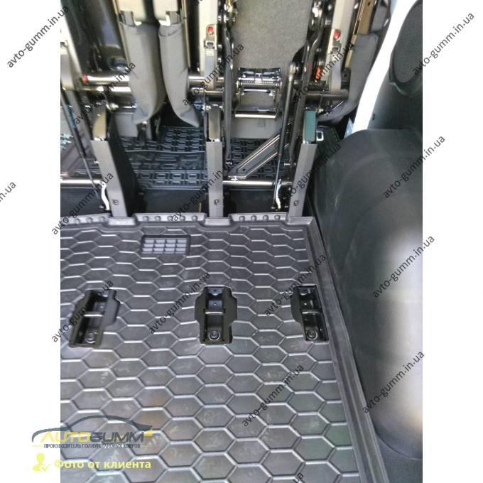 Автомобильный коврик в багажник Ford Tourneo Custom 2015- (Avto-Gumm)