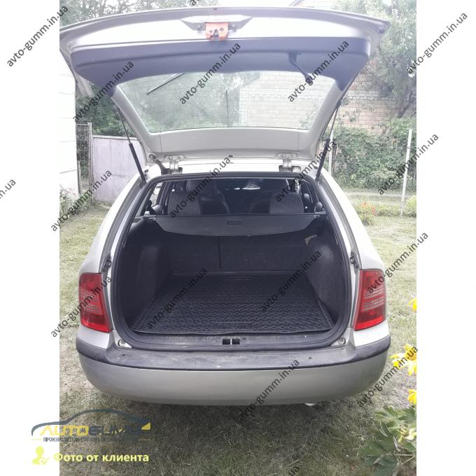 Автомобильный коврик в багажник Skoda Octavia Tour 1996- Universal (верхняя полка) (Avto-Gumm)