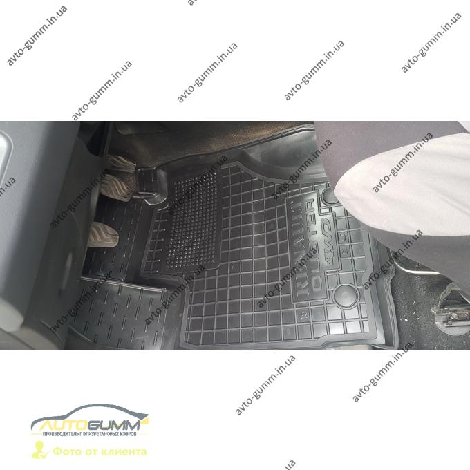 Водительский коврик в салон Renault Duster 2015- (Avto-Gumm)