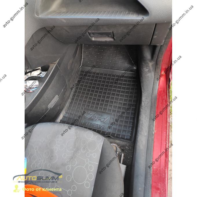 Автомобильные коврики в салон Ford Fiesta 2002-2008 (Avto-Gumm)