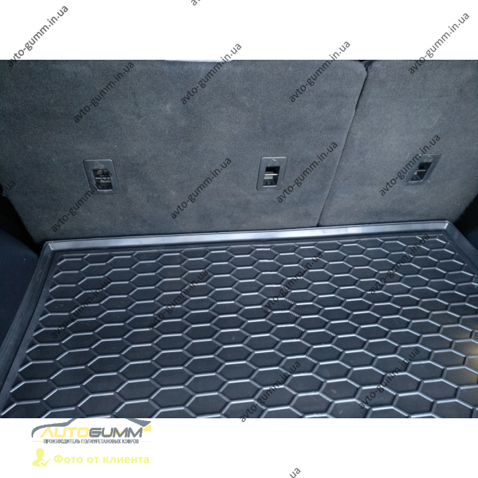Автомобильный коврик в багажник Ford Edge 2 2014- (Avto-Gumm)