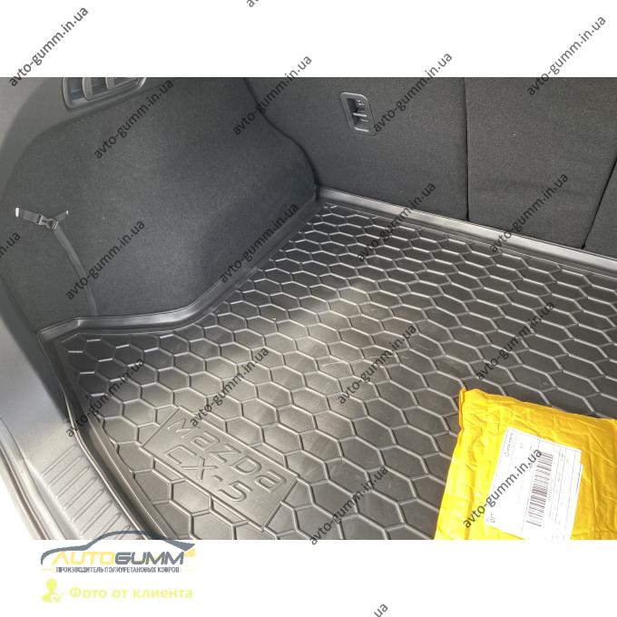 Автомобильные коврики в салон Mazda CX-5 2017- (Avto-Gumm)