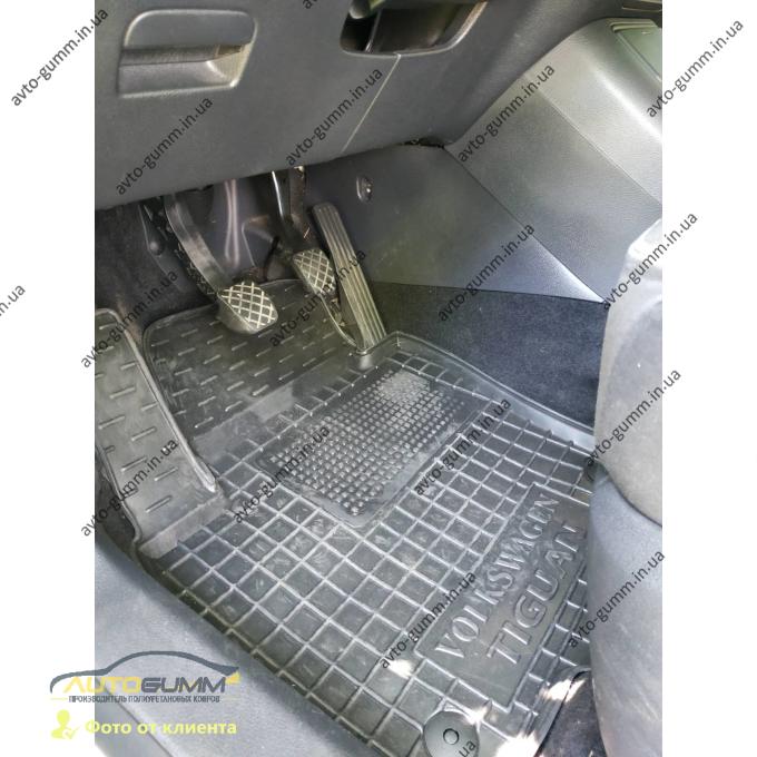 Передние коврики в автомобиль Volkswagen Tiguan 2007- (Avto-Gumm)