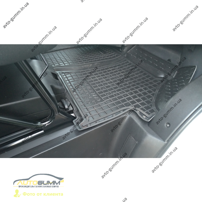 Автомобильные коврики в салон Fiat Ducato 07-/Citroen Jumper 07-/Peugeot Boxer 06- (Avto-Gumm)