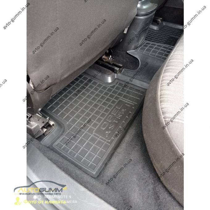 Автомобильные коврики в салон Opel Astra J 2009- (Avto-Gumm)