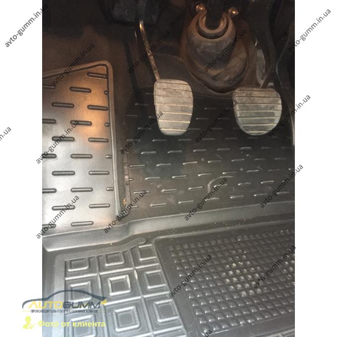 Водительский коврик в салон Renault Laguna 3 2007- (Avto-Gumm)