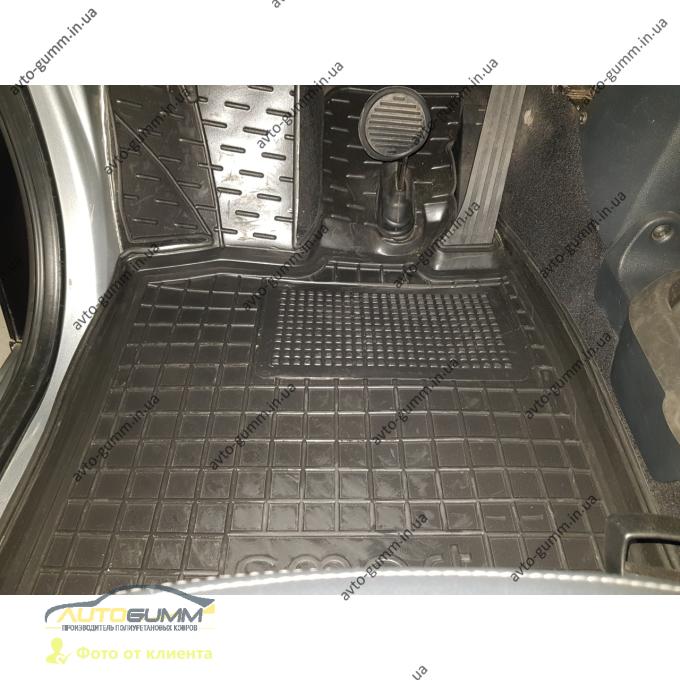 Автомобильные коврики в салон Smart Fortwo 451 2007- (Avto-Gumm)