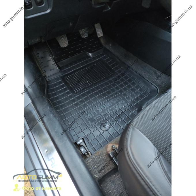 Автомобильные коврики в салон Mitsubishi Lancer (9) 2003- (Avto-Gumm)