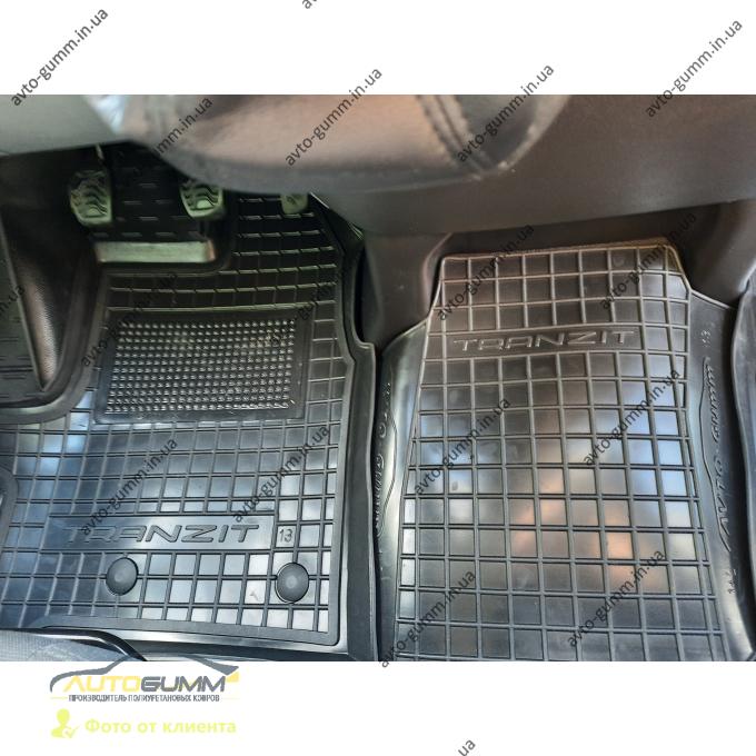 Автомобильные коврики в салон Ford Transit (mk7) 2014- (1+2) (Avto-Gumm)