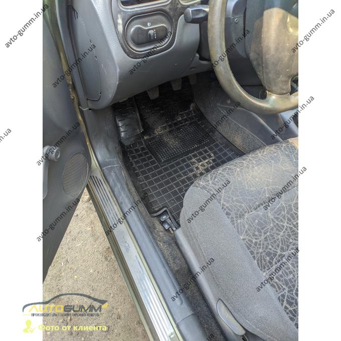 Передние коврики в автомобиль Daewoo Lanos 1996- (Avto-Gumm)