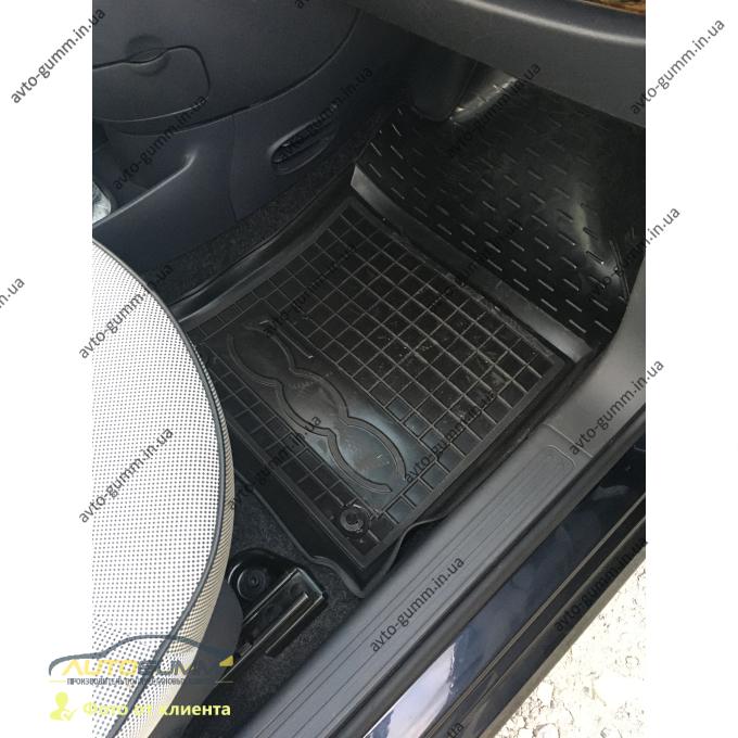 Автомобильные коврики в салон Fiat 500 2007- (Avto-Gumm)