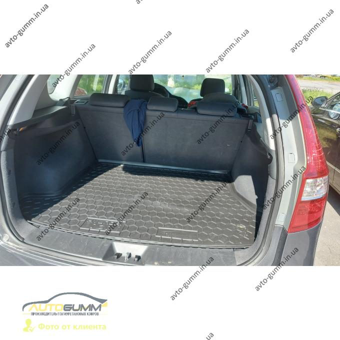Автомобильный коврик в багажник Hyundai i30 2008-2012 SW (Avto-Gumm)