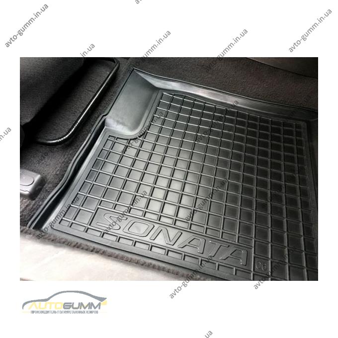 Передние коврики в автомобиль Hyundai Sonata NF/6 2005-2010 (Avto-Gumm)