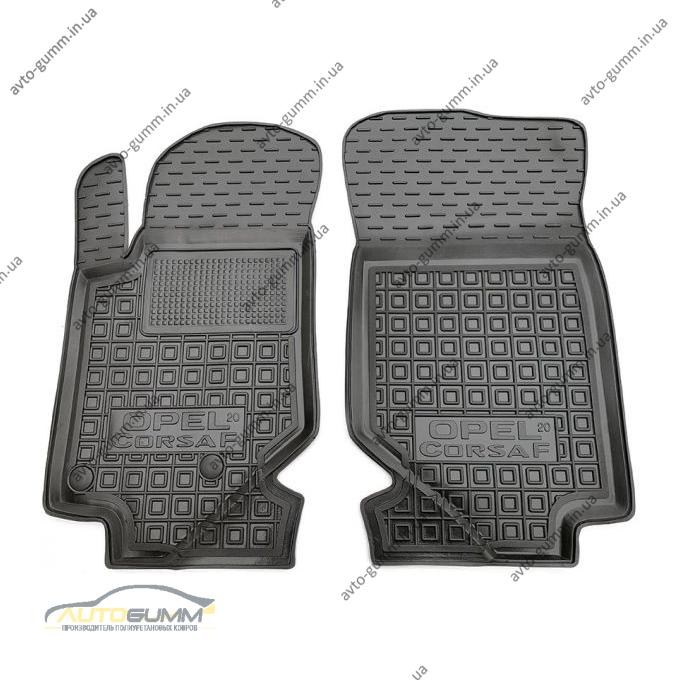 Передние коврики в автомобиль Opel Corsa F 2020- (AVTO-Gumm)