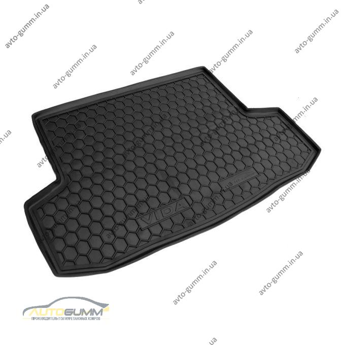 Автомобильный коврик в багажник Zaz Vida 2012- Sedan (Avto-Gumm)