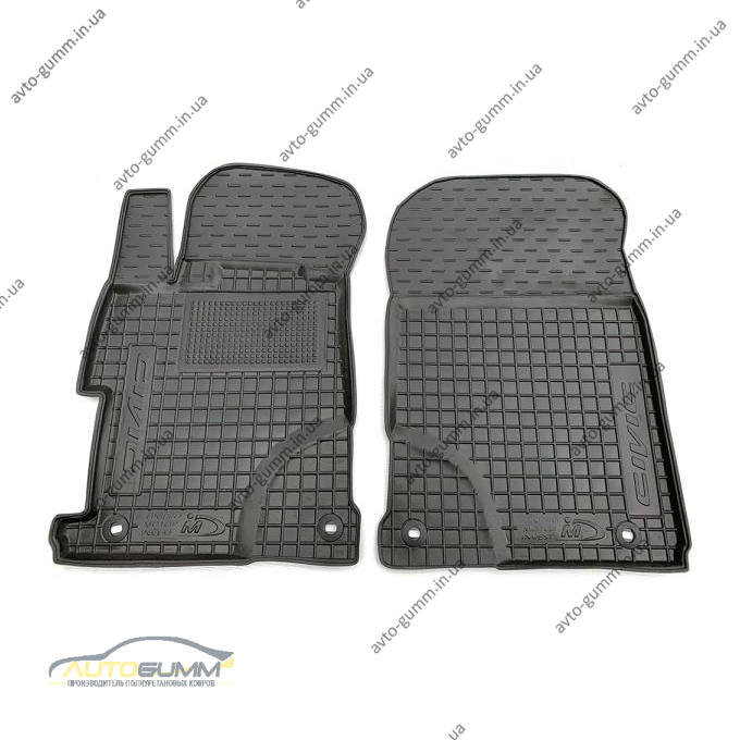 Передние коврики в автомобиль Honda Civic Sedan 2011- (Avto-Gumm)