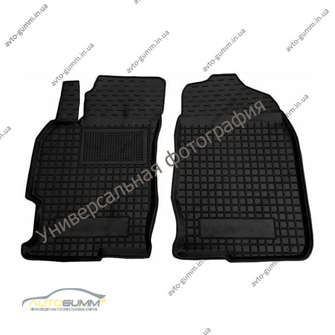 Передние коврики в автомобиль JAC j2 2013- (Avto-Gumm)