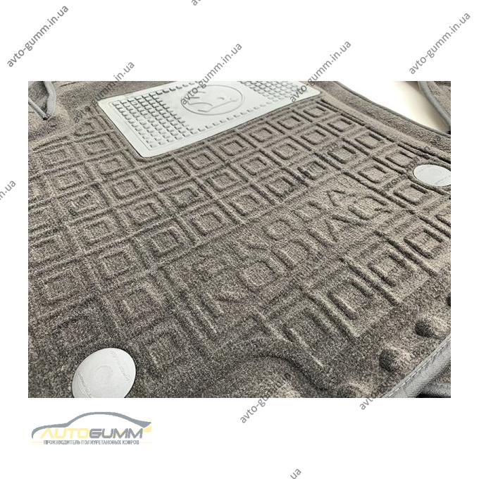 Гибридные коврики в салон Skoda Kodiaq 2017- (AVTO-Gumm)