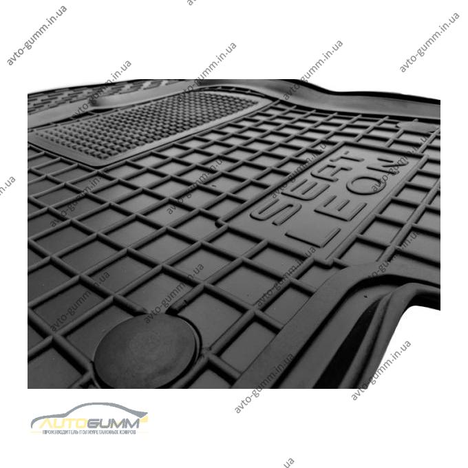 Водительский коврик в салон Seat Leon 2013- (Avto-Gumm)