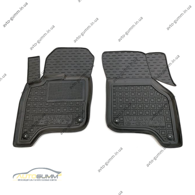 Передние коврики в автомобиль Volkswagen e-Golf 7 2013- (Avto-Gumm)
