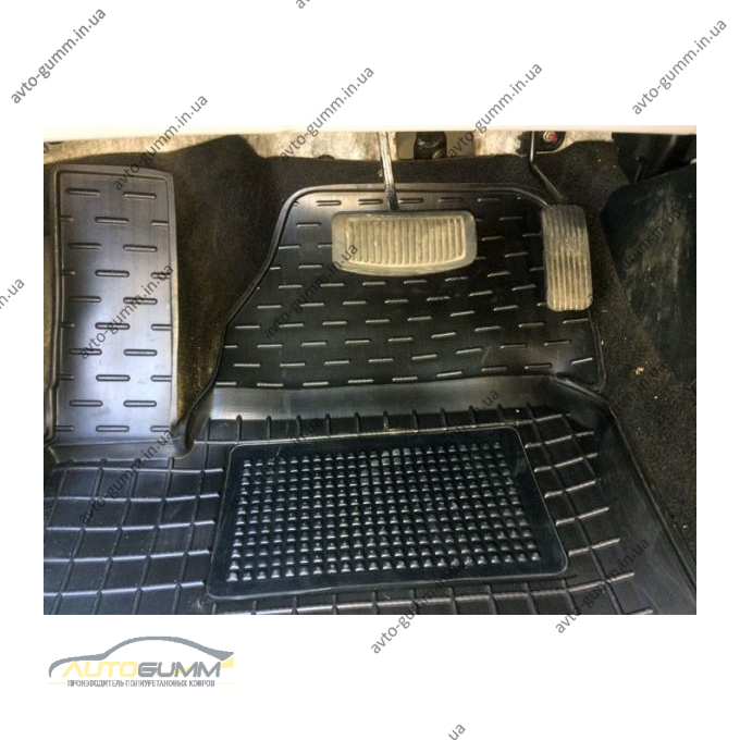 Водительский коврик в салон Kia Ceed 2006- (Avto-Gumm)