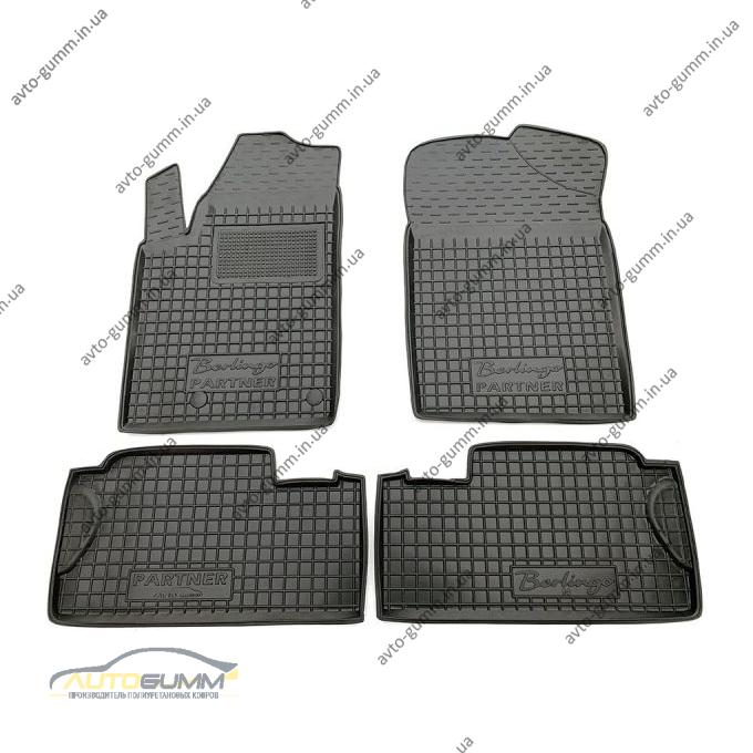 Автомобильные коврики в салон Citroen Berlingo 98-/Peugeot Partner Origin 98- (Avto-Gumm)