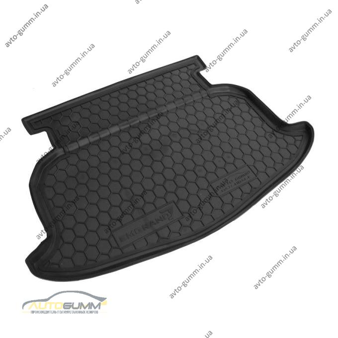 Автомобильный коврик в багажник Geely Emgrand (EC7-RV) 2012- Hatchback (Avto-Gumm)