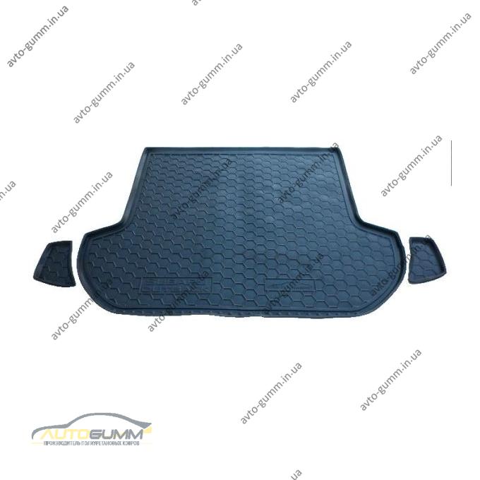 Автомобильный коврик в багажник Subaru Outback 2010- (Avto-Gumm)