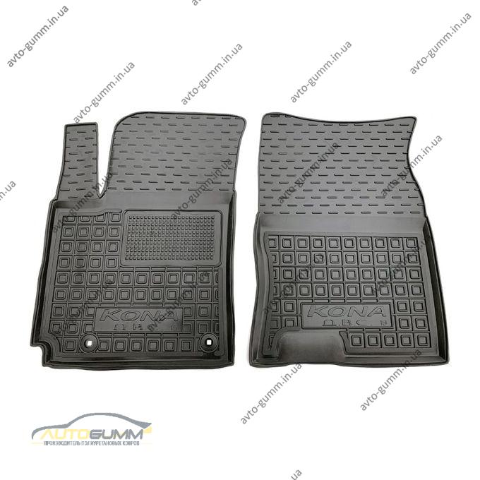 Передние коврики в автомобиль Hyundai Kona 2019- ДВС (Avto-Gumm)