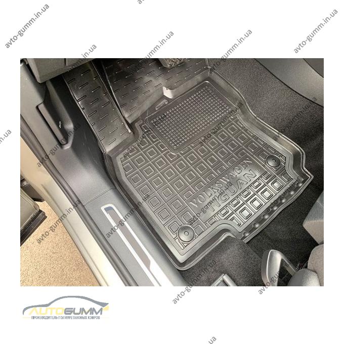 Передние коврики в автомобиль Volkswagen Tiguan 2016- (Avto-Gumm)