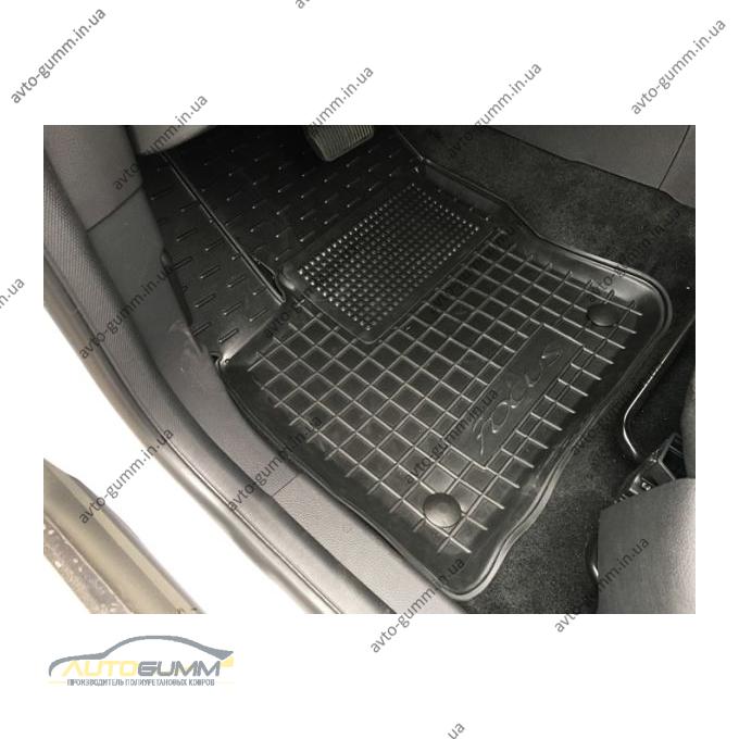 Водительский коврик в салон Ford Focus 3 2011- (Avto-Gumm)