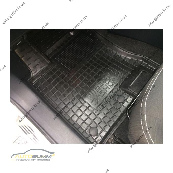 Водительский коврик в салон Nissan Qashqai 2007- (Avto-Gumm)
