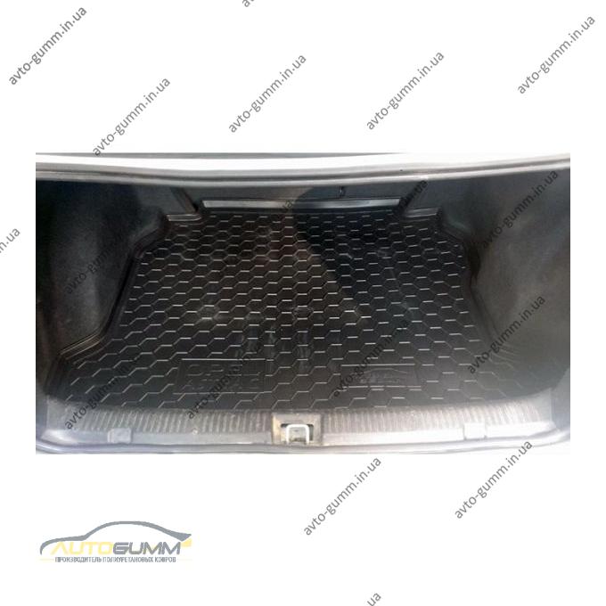 Автомобильный коврик в багажник Opel Astra (G) Classic 1998- Sedan (Avto-Gumm)