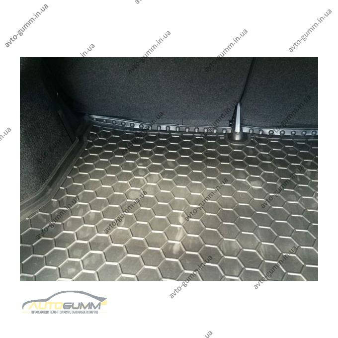 Автомобильный коврик в багажник Nissan Sentra 2015- (Avto-Gumm)