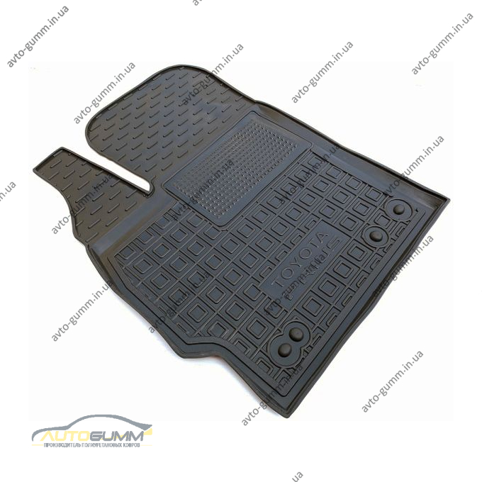 Водительский коврик в салон Toyota Prius 2010- (Avto-Gumm)