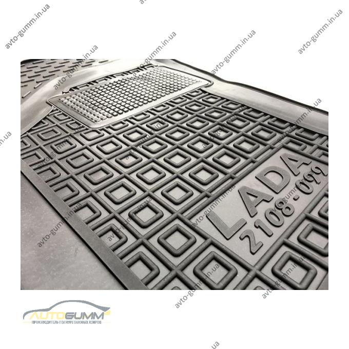 Водительский коврик в салон Lada 2108/09/99/13-15 (Avto-Gumm)