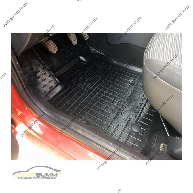 Водительский коврик в салон Renault Logan 2004-2013 Sedan (Avto-Gumm)