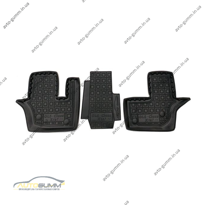 Автомобильные коврики в салон Mercedes GLS (X167) 2019- (3-й ряд) (AVTO-Gumm)