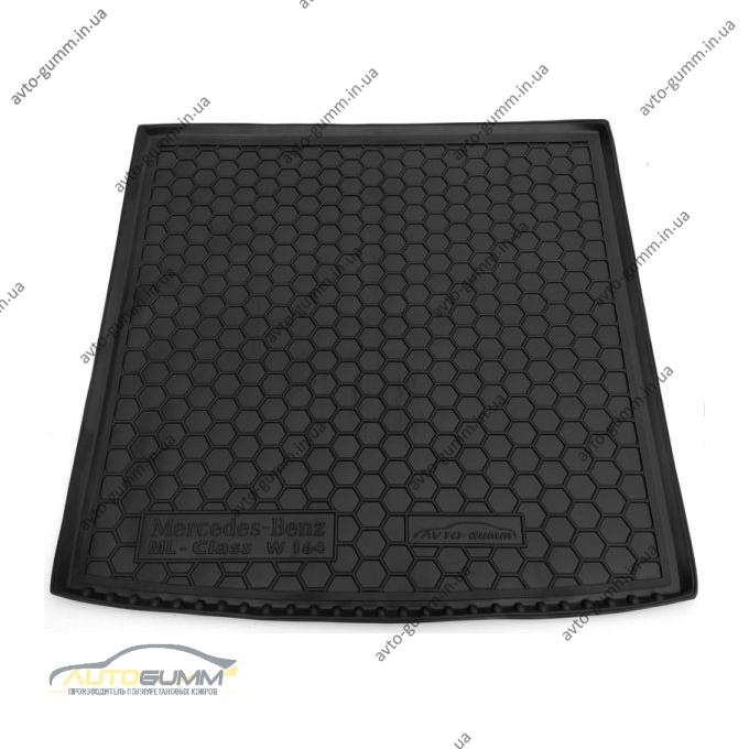 Автомобильный коврик в багажник Mercedes ML (W164) 2005- (Avto-Gumm)